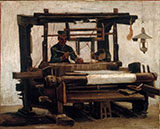 The Loom 1884 - Vincent van Gogh reproduction oil painting