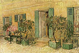 Restaurant at Asnieres 1887 - Vincent van Gogh reproduction oil painting