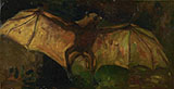 Flying Fox 1885 - Vincent van Gogh reproduction oil painting