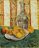 Still Life with Carafe and Lemons 1887 - Vincent van Gogh reproduction oil painting