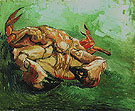 Crab on Its Back winter c1888 - Vincent van Gogh reproduction oil painting