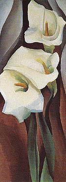 Calla Lilies 460 1924 - Georgia O'Keeffe