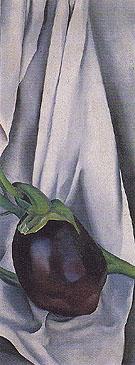 Eggplant 1924 - Georgia O'Keeffe