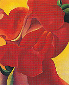 Untitled Flower 430 1923 - Georgia O'Keeffe