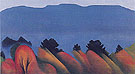 Lake George Autumn 1922 - Georgia O'Keeffe