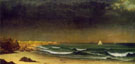 Approaching Storm Beach Near Newport C 1866 - Martin Johnson Heade reproduction oil painting