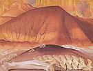 Red Hills And Bones 1941 - Georgia O'Keeffe