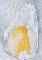 Peach 1927 - Georgia O'Keeffe