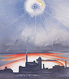East River No 1 c1927 - Georgia O'Keeffe