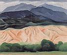 Out Back Of Maries 1 1930 - Georgia O'Keeffe