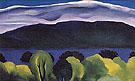 Lake George Blue 1926 - Georgia O'Keeffe