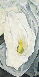 White Calla Lily 1927 - Georgia O'Keeffe