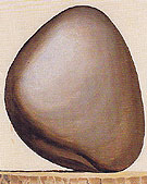 Black Rock With White Background c1963 - Georgia O'Keeffe
