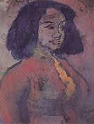 Spanish Woman - Emile Nolde