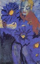 Flower Lady - Emile Nolde