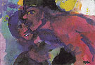 Red Man and Woman - Emile Nolde