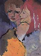 Two Ladies - Emile Nolde