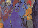 Men and Women Blue and Red - Emile Nolde