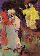 Two Couples in a Park - Emile Nolde