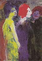 The Redhead - Emile Nolde