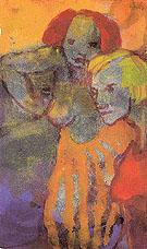Two Women - Emile Nolde