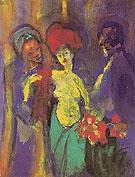 In the Dressing Room - Emile Nolde