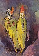 Costumed Couple - Emile Nolde