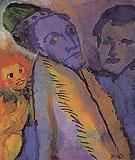 Couple and Redheaded Child - Emile Nolde