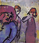 Three Figures - Emile Nolde