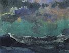 Dark Sea Green Sky - Emile Nolde