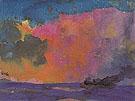 Sea with Colourful Sky - Emile Nolde