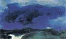 Green Sea with Blue Cloud - Emile Nolde