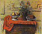Still Life on a Chest of Drawers 1919 - Pablo Picasso reproduction oil painting