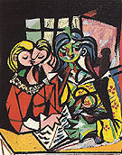 Two Figures 1934 - Pablo Picasso reproduction oil painting