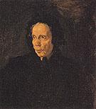 Portrait of Aunt Pepa 1896 - Pablo Picasso reproduction oil painting