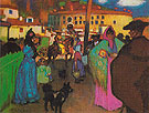 The Barcelona Bullring 1900 - Pablo Picasso reproduction oil painting