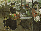 The Flower Vendor 1900 - Pablo Picasso reproduction oil painting
