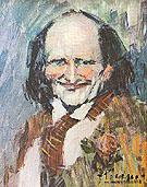 Portrait of Bibi La Puree 1901 - Pablo Picasso reproduction oil painting
