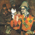 At the Lapin agile 1905 - Pablo Picasso reproduction oil painting
