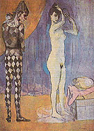The Harlequins Family 1905 - Pablo Picasso reproduction oil painting