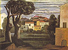 Landscape with a Dead and a Living Tree 1919 - Pablo Picasso reproduction oil painting