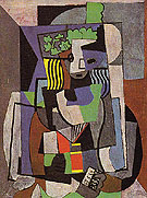 The Schoolgirl 1919 - Pablo Picasso reproduction oil painting