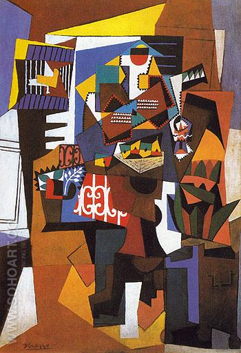The Bird Cage 1923 - Pablo Picasso reproduction oil painting