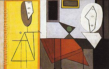 The Studio 1927 - Pablo Picasso reproduction oil painting