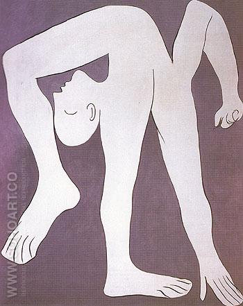 The Acrobat 1930 - Pablo Picasso reproduction oil painting