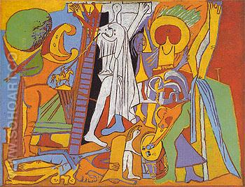 The Crucifixion 1930 - Pablo Picasso reproduction oil painting