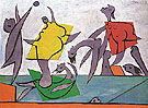 Beach Game and Rescue 1932 - Pablo Picasso reproduction oil painting