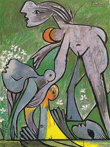 The Rescue 1932 - Pablo Picasso reproduction oil painting