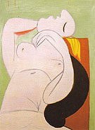 Sleep 1932 - Pablo Picasso reproduction oil painting