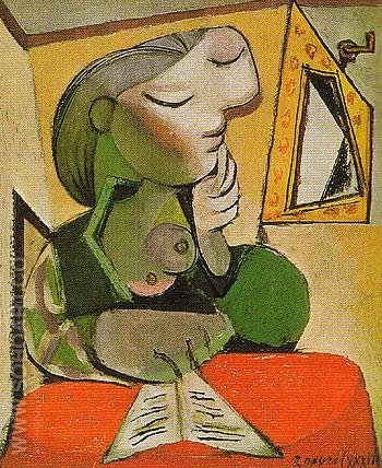 Portrait of a Woman 1936 - Pablo Picasso reproduction oil painting